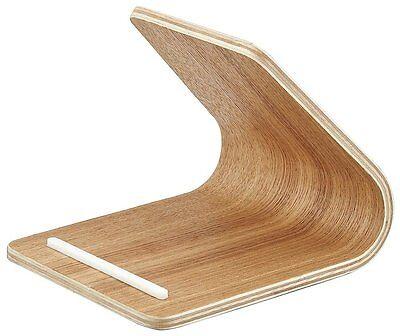 RIN Wood Tablet Stand Holder for iPad Nexus Natural Yamazaki New Japan