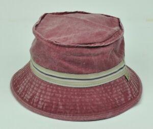 9c4c0e43f76 Levis Strauss Signature Vintage Distressed Sun Bucket Hat Large XLarge  Burgundy