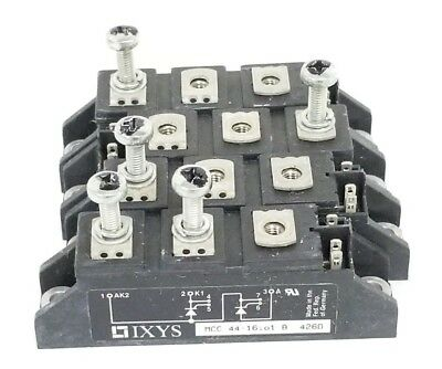 Lot Of 4 Ixys Mcc 44-16io1 B Scr Thyristor Modules Mcc4416io1b 426d