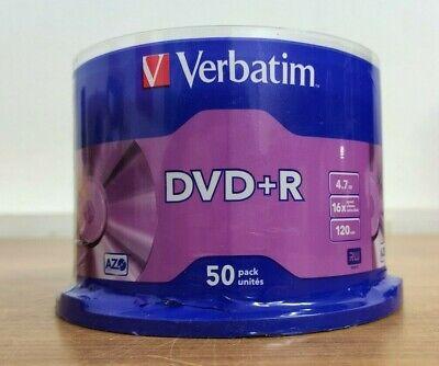 VERBATIM DVD+R 50Stück/pack (43550)