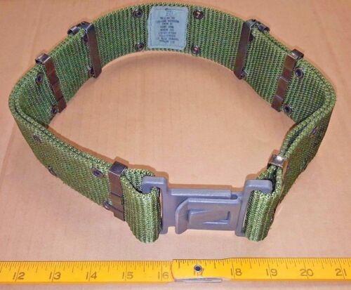 NEW US Military PISTOL BELT, Gray Qk-Release Utility OD-Green MED, Alice LC-2