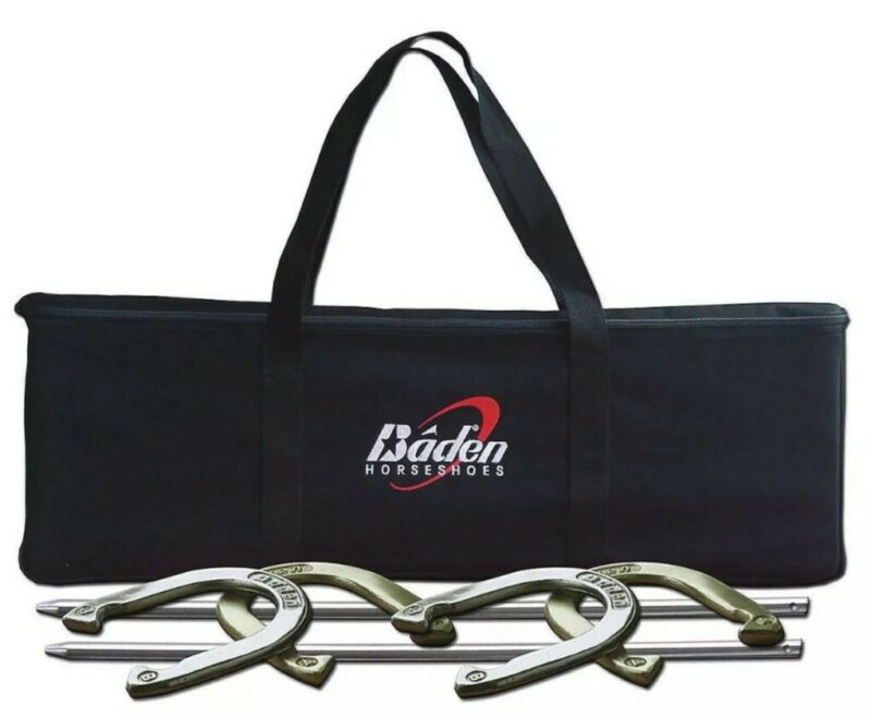 Baden 4 Players Horseshoes Set Champions Series Tournament Game Quality