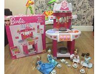 Barbie Kitchen with Dolls