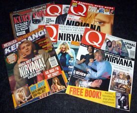 Nirvana, Kurt Cobain magazine job lot.
