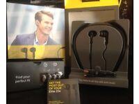Various headphones as new