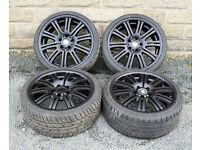 """19"""" Alloy wheels tyres 5x120 1 3 series E36 E46 E87 Z3 Z4 alloys - wheels"""