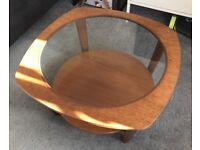 Vintage coffee table 68x37cm.