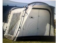 Sunncamp Silhouette 225 Plus Drive Away Campervan awning