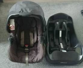 Graco Evo Car Seat and Bsse