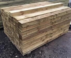 🌳Tanalised Feather Edge Wooden Fencing Panels/Pieces/Boards - Various Sizes Available