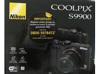 Nikon Camera Coolpix S9900 Never used