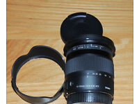 SIGMA 17-70 mm f/2.8-4 DC HSM OS Wide-angle Zoom Lens with Macro for Canon. As new