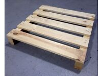 "SMALL, DRY PALLETS. Up to L35"" x W35"" x H5"" in size. Perfect for firewood and DIY! (£2 EACH!)"
