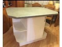 Kitchen island table 130x90cm