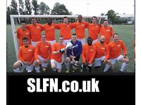 Join the biggest and best football team in London, find football team in London, find football uk
