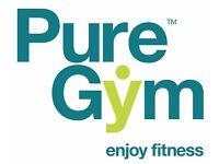 PURE GYM Membership £15 !!!