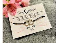 🌸 SOUL SISTERS 🌸 Make A Wish Bracelet, Wish Strings, Charm Bracelet, Gift