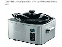 Cuisinart digital slow cooker 6.5l