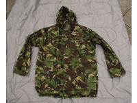 NEW - British Army DPM Ripstop CS95 Field Jacket - 180/112 = XLarge (with Detachable Hood)