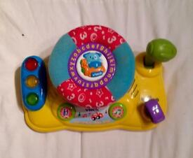 Vtech Learn And Go Baby Driver. Steering Wheel. Lights And Sounds. VGC.
