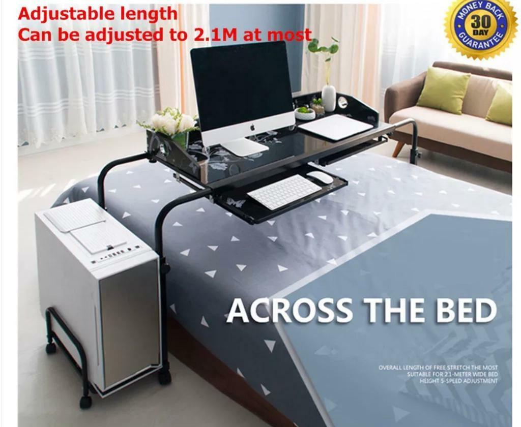 Across Bed Table. Overbed Table. Computer Table With Wheels