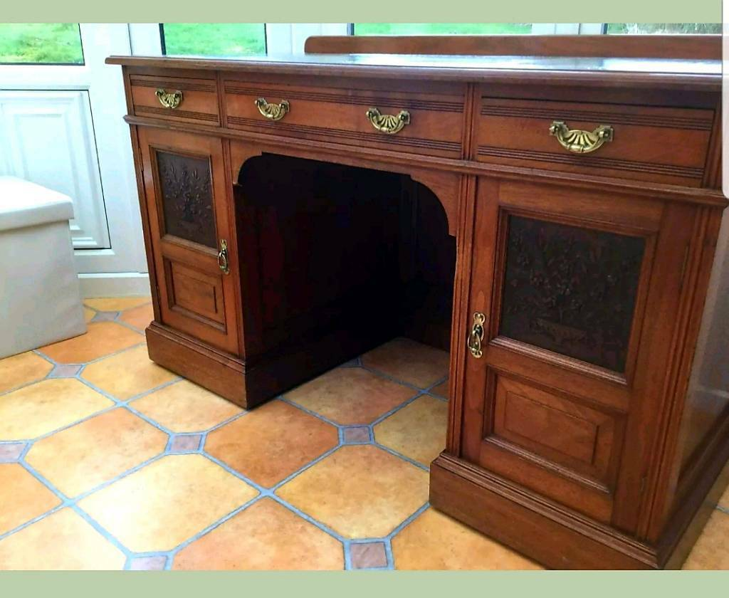 Antique study desk - Antique Study Desk In Kiveton Park, South Yorkshire Gumtree