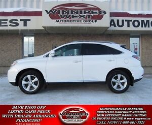 2011 Lexus RX 350 Pearl White 4x4, Leather, Sunroof, Power Liftg