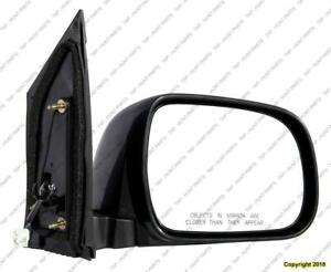 Door Mirror Power Passenger Side Toyota Sienna 2004-2010