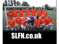 Join a decent and organised football team, play football in London, find football in London, play uk