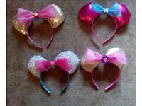 Hand made Minnie ears.