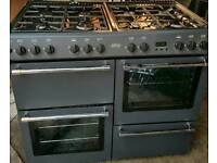 BELLING double oven 8 Gas Hob cooker with grill