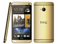 HTC M8 brand new unlocked 32gb Gold/Silver