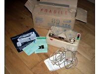 Rare 1950s Factory Boxed Italian Vintage Geloso Tape Recorder