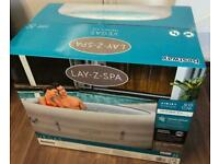Brand New 2021 Lay Z Spa Vegas Hot Tub Jacuzzi 4-6 People