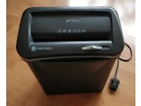 REXEL v30WS Small, portable, plug-in, electric paper shredder