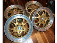 2pc splits, 17inch RH alloy wheels for audi vw seat and more