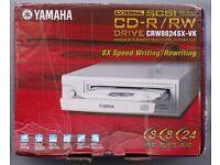 Nearly new Yamaha CD-R/RW CD Writer