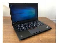 Lenovo Thinkpad UltraBook T450 laptop 8gb or 16gb ram 500gb Intel Core i5 5th gen CPU