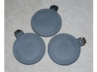 3x Roland V Drums PD-8A TOM or expand electronic trigger set perc pads great condition x 3