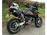 KTM 950 Supermoto (2008) with low miles