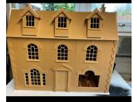 Georgian town house - dolls house