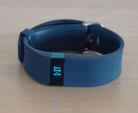 Blue Fitbit Charge HR