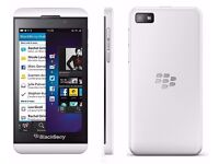 Blackberry Z10 16GB WHITE UNLOCKED EXCELLENT CONDITION