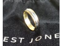 Wedding Ring - 18ct Yellow Gold & White Gold £250