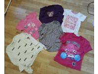 Girl tshirts 5-6 6-7