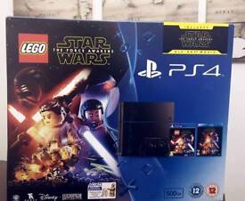 PS4 500Gb with Lego Star Wars