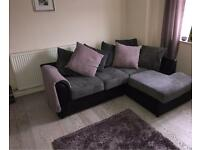 3 seater corner sofa and 2 seater sofa - £300