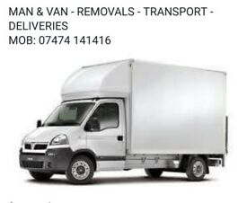 Man & Van, Removals (All areas of Birmingham and Black Country, Walsall, Wolverhampton, Dudley)