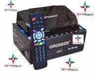 ★2017 OPENBOX IPTV V-9-S✮667 MHZ✮ NEW BUILT IN WIFI DVB-S2 HD SAT RECEIVER★