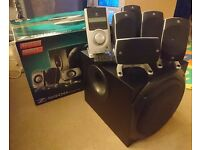 Logitech Z5500 5.1 Digital Home Theatre System | 505 Watt | THX | DTS 96/24 | Dolby PL2